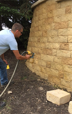 Staining Walls On Purpose By Tom Hatlen